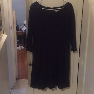 Navy Merona 3/4 sleeve dress from Target